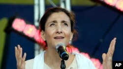 Ingrid Betancourt (AP Photo/Francois Mori)
