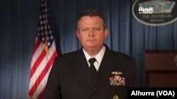 Пресс-секретарь военного ведомства США Джефф Дэвис