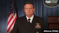 juru bicara Pentagon Kapten Jeff Davis (foto: dok).