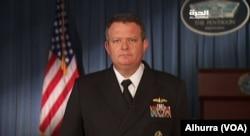 美国国防部发言人、海军上校杰夫·戴维斯