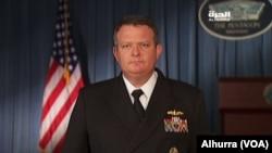 Официальный представитель Пентагона капитан ВМС Джефф Дэвис