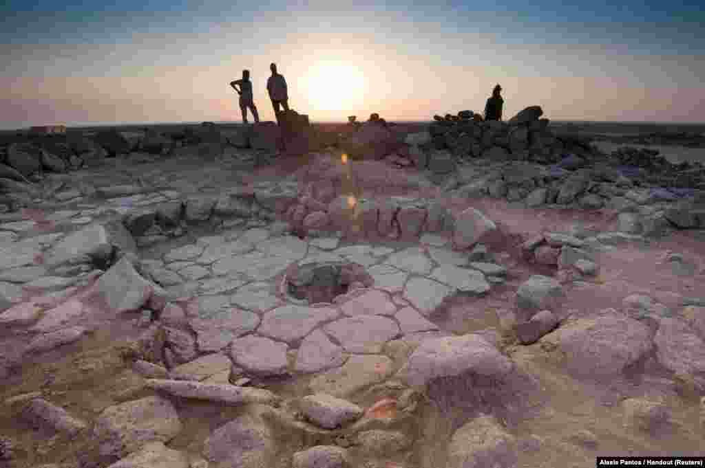 یک بنای سنگی در شمال اردن که سابقه آن به ۱۴ هزار و پانصد سال پیش بر می گردد.
