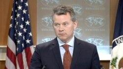 美國國務院新聞辦公室主任 傑夫•拉特克。(視頻截圖)