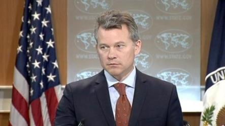 美国国务院新闻办公室主任 杰夫•拉特克。(视频截图)