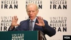 آقای لیبرمن رئیس نهاد «اتحاد علیه ایران اتمی» است.