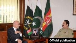 دو ماہ کے دوران پاکستانی جنرل کا یہ دوسرا دورہ کابل ہے (فائل فوٹو)