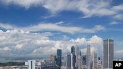 싱가폴 중심가