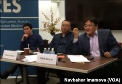 Serik Beissembayev, Valixon Tuleshov va Aydos Sarim, Jorj Vashington Universiteti, 14-yanvar, 2016