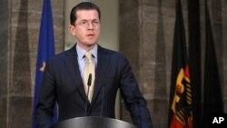 مستعفی ہونے والے جرمن وزیردفاع