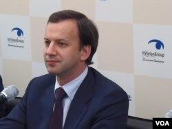 俄羅斯副總理德沃爾科維奇(美國之音白樺)