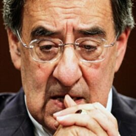 CIA Director Leon Panetta testifies on Capitol Hill, Washington, DC., 02 Feb 2010