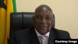 Alcino Pinto, presidente da Assembleia Nacional de São Tomé e Príncipe