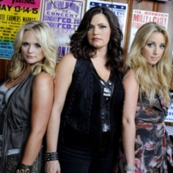 The Pistol Annies are made up of Miranda Lambert, left, Angaleena Presley, center, and Ashley Monroe