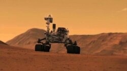 Curiosity – год на Марсе