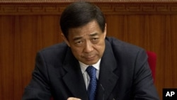 Bo Xilai (March 11, 2012 file photo)