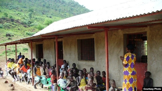 The primary school at Kuron village. (Courtesy: Kuron village)