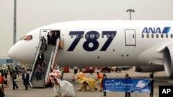 """全日空787""""夢幻飛機""""10月26號首飛在香港著陸 (資料圖片)"""