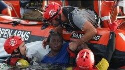 Au moins 52 morts dans le naufrage de deux bateaux de migrants