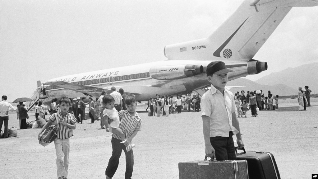 Evacuating from Nha Trang to Saigon in the last days of the Vietnam War, 1975.