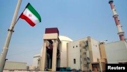 Tư liệu - Nhà máy điện hạt nhân Bushehr ở Iran.