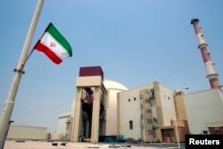 ໂຮງໄຟຟ້ານິວເຄລຍ Bushehr ຕັ້ງຢູ່ 1,200 ກິໂລແມັດຈາກນະຄອນຫຼວງ ເຕຫະຣ່ານ ຂອງ ອີຣ່ານ. 21 ສິງຫາ 2010.