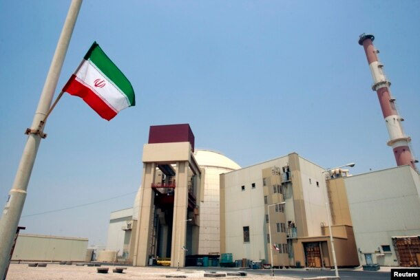 FILE - A general view of Bushehr nuclear power plant, 1,200 km (746 miles) south of Tehran, Aug. 21, 2010.