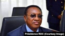 Premier ministre Bruno Tshibala na bokutani ya ba institutions na Cité de l'Union africaine, Kinshasa, le 18 mars 2019. (Présidence RDC)