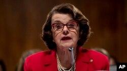 The Senate Judiciary Committee's ranking member Sen. Dianne Feinstein.