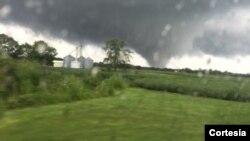 El estado de Indiana, en la zona norte centro de EE.UU., fue azotado por tornados y lluvias torrenciales.