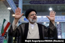 Ebrahim Raisi, candidat à la présidence de l'Iran.