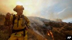 Vatrogasci na terenu u Kaliforniji