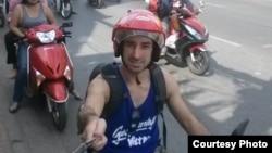 Alex Fortin, công dân Canada, từng sống ở Việt Nam trong khoảng hai năm.