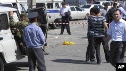 На месте теракта в Дагестане. Архивное фото.