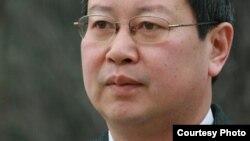 北京大学经济学教授夏业良(腾讯博客照片)