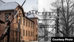Auschwitz xưa và nay.