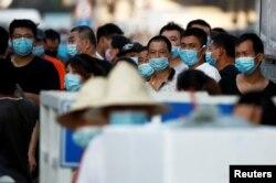 Ринок морепродуктів Jingshen у Пекіні, 12 червня (REUTERS)