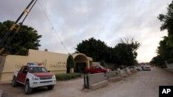 Konsulat Amerika Serikat di Benghazi, Libya. (Foto: Dok)