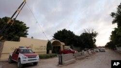 利比亚美国使馆