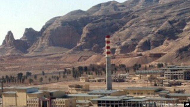 An aerial photo shows Iran's Uranium Conversion Facility, just outside the city of Isfahan, 410 kilometers south of the capital Tehran, Iran, in this Wednesday, March 30, 2005 photo.