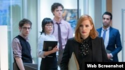 جسیکا چستین در فیلم خانم اسلون (EupropaCorp)