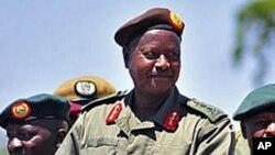 Le président Ougandais Yoweri Museveni, le 6 février 2011.