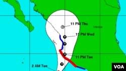 El Centro de Huracanes advirtió que la tormenta podía ocasionar inundaciones costeras significativas.