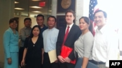 Phái đoàn của Hội Từ thiện 'Mầm Hy vọng' lên Thượng viện Mỹ vận động Quốc hội thông qua nghị quyết kêu gọi bảo vệ Vùng Châu thổ Sông Mekong