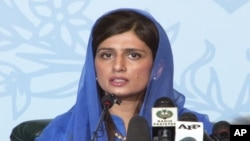 Pakistan Foreign Minister Hina Rabbani Khar (file photo).
