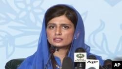 Ngoại trưởng Pakistan Hina Rabbani Khar