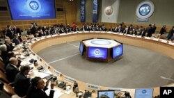 국제통화기금 집행이사회. (자료사진)