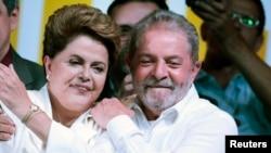 Dilma Rousseff e Lula da Silva