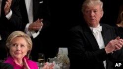 Hillary Clinton da Donald Trump dukansu 'yan takara