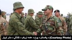 Một nhóm khoảng 100 biệt kích thuộc quân đội Nga đã đến Pakistan để tham gia cuộc diễn tập quân sự chung đầu tiên giữa hai nước.