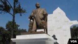 Heydər Əliyevin Mexikoda heykəli